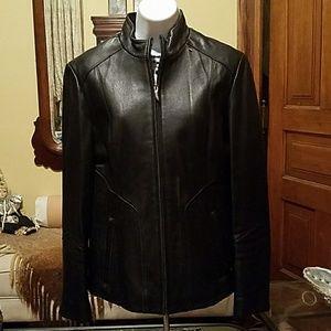 Venus by Wilson's Black leather jacket